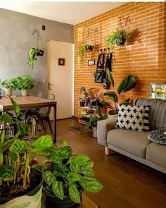 Interior Garden, Interior Design, Diy Home Decor, Room Decor, Decoration Plante, Boho Room, Cool Apartments, Creative Decor, House Colors