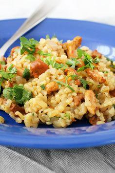 Helathy Food, Fried Rice, Pasta Salad, Vegan Vegetarian, Risotto, Fries, Recipies, Good Food, Dinner