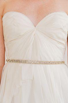 Skinny gold bridal belt, thin bridal sash belts, wedding sash ...