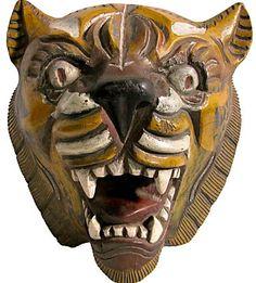 Indonesian mask via One King's Lane