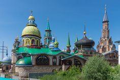Kaikkien uskontojen temppeli, Trans-Siperia autolla 21.6.2016