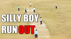 Silly Boy RUN OUT - KGCE CRICKET