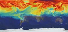 Global Warming Watch: How Carbon Dioxide Bleeds Across The Earth