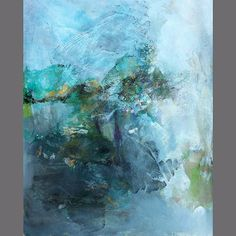 Nikko Miladinovich - abstract painting on paper Pastel Paintings, Abstract Paintings, Abstract Art, Traditional Landscape, Abstract Landscape, Shades Of Blue, Impressionism, Contemporary Art, Art Ideas