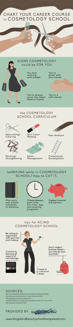Students who want to work while attending school can find the perfect balance by enrolling in cosmetology school! Get tips for acing your courses by checking out this infographic from a cosmetology school in Hempstead.