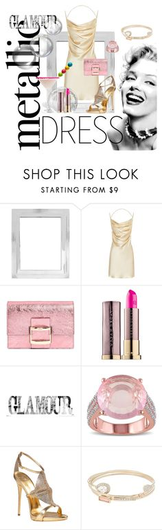 """Untitled #636"" by forkelly1 ❤ liked on Polyvore featuring Pottery Barn, Yves Saint Laurent, Roger Vivier, Urban Decay, Miadora, Giuseppe Zanotti and Lipsy"
