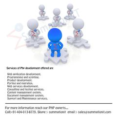 Reach Our #PHP Experts- #hire #php #developers. Our services include #php #frameworks #laravel #zend #symfony #cake #php #fuel #php know more at http://www.summationit.com/php-web-development