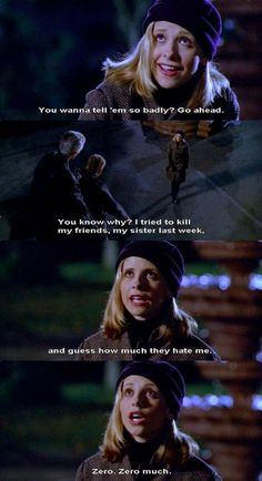 Buffy The Vampire Slayer Spike Buffy, Buffy The Vampire Slayer, Series Movies, Movies And Tv Shows, Vampire Shows, Buffy Summers, Funny Scenes, Sarah Michelle Gellar, Great Tv Shows