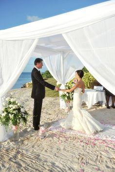 Gorgeous beach backdrop.  For the ultimate destination wedding www.rumours-rarotonga.com