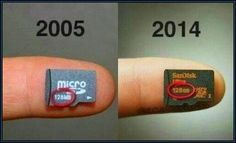 Nine years' difference in data storage ! #Technology is moving too fast #BigData