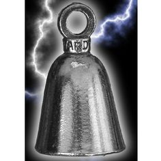 Our Custom Bells are Universal fit Works on Any Make and Model Motorcycle Kustom Cycle Parts Flames//Fire Motorcycle Evil Spirits Biker Guard Bell USA Designed