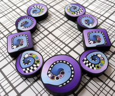 beads1 001 by TLS Clay Design, via Flickr.