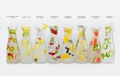 8 Infused Water Combos to Keep You Hydrated - Wholefully
