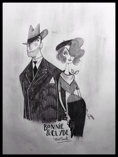 BONNIE and CLYDE By Alex T. Smith www.alextsmith.com