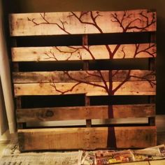 Salvaged Creations on facebook #pallet #painting #salvage #art