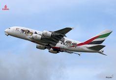 Toutes les tailles | Emirates / Airbus A380-861 /A6-EEI / United For Wildlife | Flickr: partage de photos!