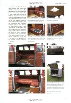 VW Camper - The Inside Story: A Guide to VW Camping Conversions