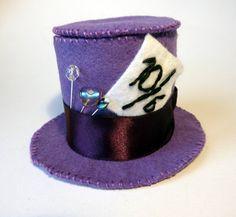 Felt Mad Hatter's hat by ~KittyBallistic on deviantART