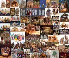 Christmas nativities from all over the world.