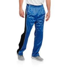 Four Cast Men's Tricot Track Pants, Size: Medium, Blue