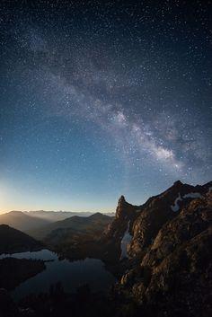 Milky Way over Minaret Lake