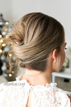 10 Easy Hairstyles For A Special Occasion Night Out Hairstyles, Holiday Hairstyles, Fancy Hairstyles, Everyday Hairstyles, Braided Hairstyles, Beautiful Hairstyles, Messy French Twists, Glamorous Hair, Silky Hair