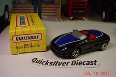 Matchbox Ford Mustang Mach III Black 1993 15 Box