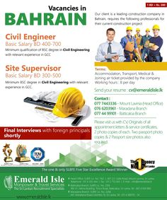 38 Best Foreign Vacancies Bahrain images in 2019 | Skype