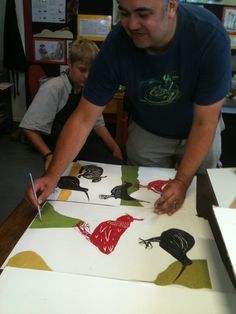 Sheyne Tuffery at Dilworth Maori Art, Drawing Ideas, Printmaking, Art Drawings, Students, Artists, Create, Ideas For Drawing, Printing
