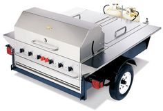 BBQ AND OUTDOOR COOKING trailer