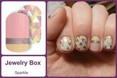 JEWELRY BOX Jamberry Nail Wraps #JewelryBoxJN www.debsjaminails.jamberrynails.net
