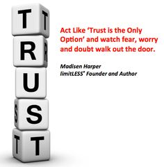 Trust like there's no other option