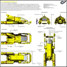 Thunderbird 4 - Specs by Librarian-bot.deviantart.com on @deviantART