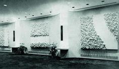 Banco do Brasil, Nova York, Estados Unidos, 1968. #newyork #us #sergiocamargo #art #abstraction #sculpture #concrete #geometry