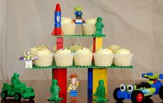 @Jonathan Anderson - Lego cupcake display - can we use your legos for this??