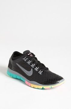 Nike Free TR Connect Training Shoe Women Black Grey Pink 11 M Nike Running Shoes  Nike a98e47e544