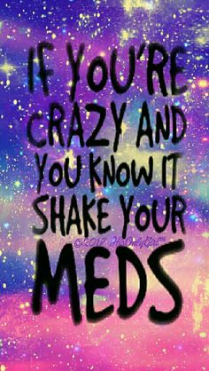 Crazy meds galaxy iPhone/Android wallpaper I created for the app CocoPPa.