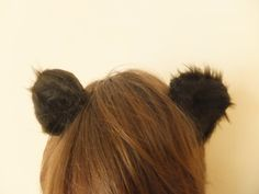 Dark Brown Bear Otter Ears Furry Cosplay Hair Clips Kawaii Grizzly Rat Mouse Cute Halloween Kitsch Animal - Nepenthe would ADORE these! Bear Halloween, Cute Halloween, Halloween 2018, Halloween Ideas, Mouse Outfit, Cosplay Hair, Vbs Crafts, Kawaii Cute, Brown Bear