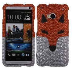 Are you a animal lover? Or are you in love with something cute, this must be one of your best choice. $9.99. Come to @Acetag and get #Hard #Cover #Case - Orange Fox With Full Rhinestones to protect your #HTC #One #M7 right now!!!