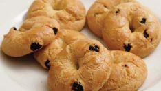 Σταφιδοκούλουρα Biscuit Cookies, Onion Rings, No Bake Cake, Macarons, Cauliflower, Biscuits, Food And Drink, Favorite Recipes, Sweets