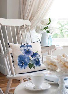Pansy Pillow