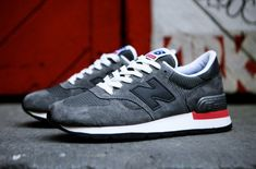 New Balance 990 – Grey / Black