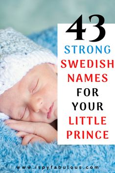 Swedish boy names make for unique and strong names for new bundle of joy. With authentic Swedish names for boys to the names that are popular in Sweden, this list curates Boy Names Spanish, French Boys Names, Italian Baby Names, Irish Baby Names, Badass Boy Names, Cool Boy Names, Unique Boy Names, Girl Names, Black Baby Boys