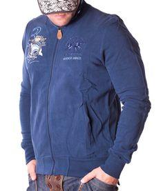La Martina Buenos Aires Zip Hoodie - Navy Color: navy 2 side pockets La Martina Logo embroidery on the left side of chest La Martina embroidery on the. Navy Color, Zip Hoodie, Designer Clothing, Hoodies, Long Sleeve, Mens Tops, Jackets, Formal, Fashion