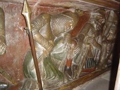 ca. 1340-1350 - 'soldiers at the Holy Sepulchre', Münster, Freiburg im Breisgau, Baden-Württemberg, Germany, via Flickr.