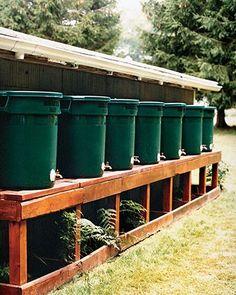 rain barrel diy
