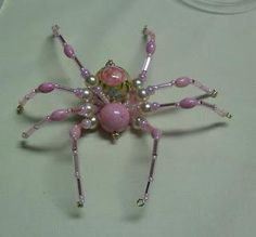 DIY Beads : DIY Shawkl: Beaded Spider