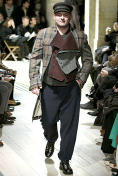Yohji Yamamoto Fall 2012 Menswear Collection Slideshow on Style.com