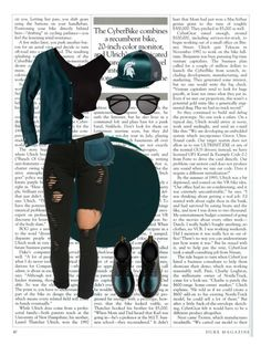 """""""1. Black & Green"""" by juliaxabraham on Polyvore featuring RGB, Dr. Martens, Chloé, Wet Seal, J.Crew, Top of the World, Yves Saint Laurent, women's clothing, women and female"""