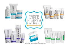 WOO HOO! It's CYBER MONDAY! Can you do me a favor and check out my site?! www.hgarber.myrandf.com We are offering some awesome bundles right now on regimen's + tools! With a bundle you also get our award winning Multi-Function Eye Cream!Plus, free makeup up removing wipes on new PC orders TODAY ONLY! AND I will paypal you $20 for becoming a new PC customer! Message me for help placing your order!! Hannah_garber@yahoo.com